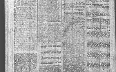 """""""Kurjer Poznański"""" – Przysięga Wojsk Wielkopolskich 26.01.1919r."""