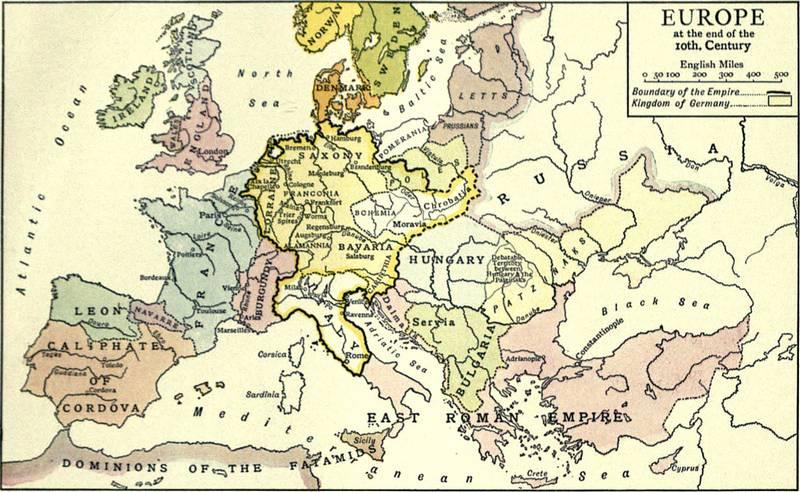 Chrześcijaństwo w Europie X wieku